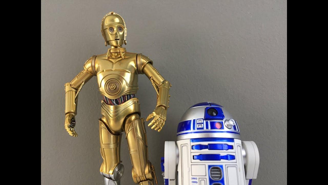 BANDAI S.H.Figuarts R2-D2 A NEW HOPE Figure Star Wars