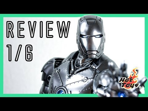 Hot Toys Iron Man 1 Mark II 2018 - diecast Special Edition 1/6 review MMS431 D20
