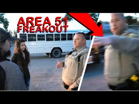 AREA 51 ALAMO SHERIFF'S DEPUTY DOESN'T WANT YOU TO SEE THIS!