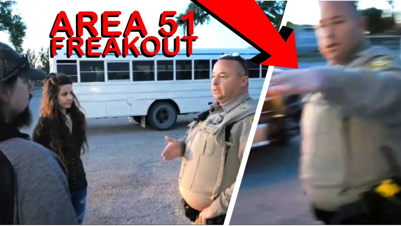 We Discovered Area 51's Secret Bus Location And THIS HAPPENED