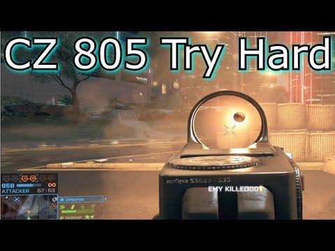 BATTLEFIELD 4 - CZ 805 Try Hard Live COM! thumbnail
