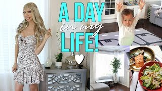 DAY IN MY LIFE: My New Look, Home Decor Update & Self Care!