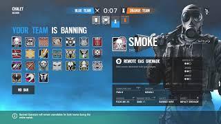 Rainbow Six Siege full squad