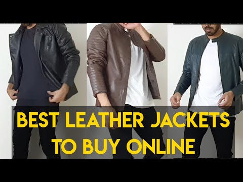 Best Leather Jackets For Men To Buy Online  Indian Men Shopping Haul
