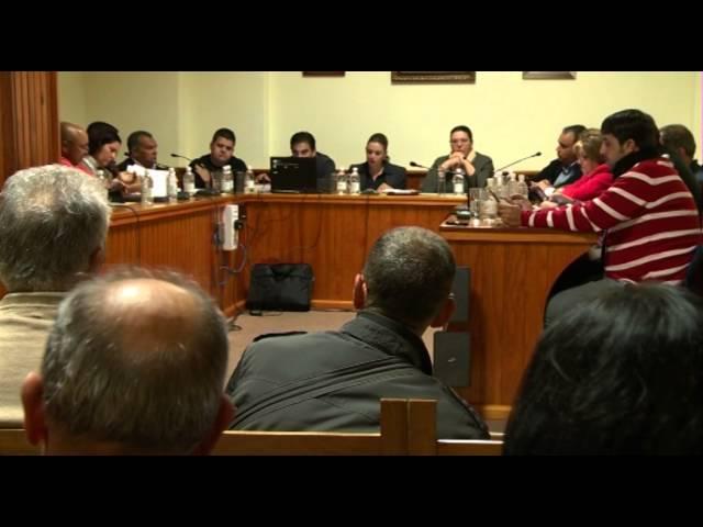 Pleno municipal San Bartolomé 28-01-2013