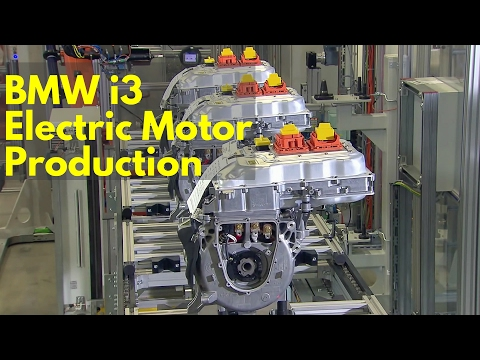 BMW i3 Electric Motor Production