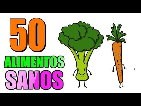 50 ALIMENTOS SANOS Y BARATOS PARA ADELGAZAR RÁPIDO ???