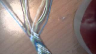 фенечка елочка(12 видео-урок)
