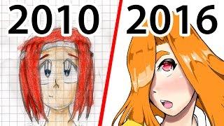 Meine alten Zeichnungen (VS meine Neuen Zeichnungen)