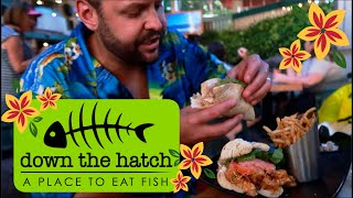 Down the Hatch Restaurant Review || Great Food on Front Street