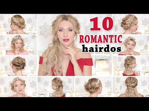 10 WEDDING party HAIRSTYLES ★ Hair tutorial for short, medium and long hair BACK TO SCHOOL thumbnail