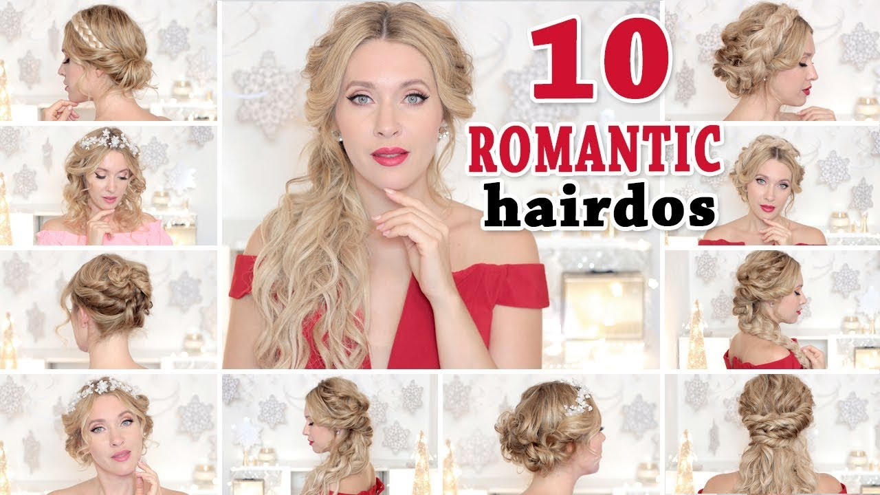 10 Lavish Wedding Hairstyles For Long Hair: 10 WEDDING Party HAIRSTYLES ★ Hair Tutorial For Short