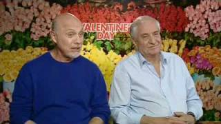 Actor HECTOR ELIZONDO and Director GARRY MARSHALL talk about  VALENTINE'S DAY (Entertainment.ie)