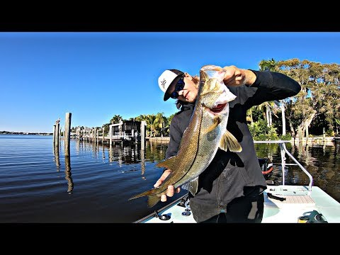 My Reel Broke On A GIANT SNOOK On The Saint Lucie River!!