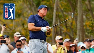 All the best shots from left-handed golfers
