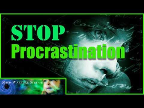 Stop Procrastination -(Very Potent ) Subliminal   Theta   Brainwaves