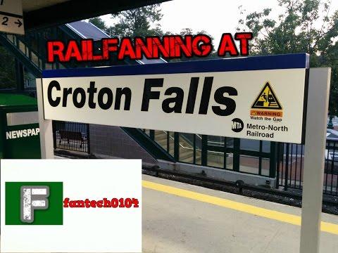 Railfanning at Croton Falls During Peak Hour on the Metro North Railroad Harlem Line