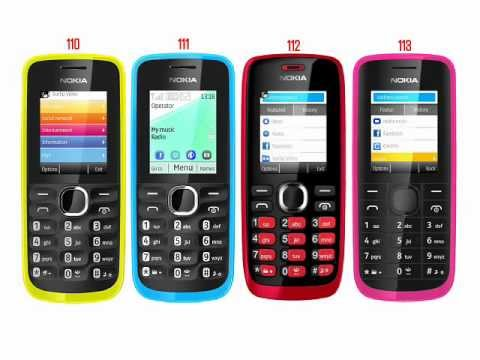 Nokia 110, 111, 112 and 113