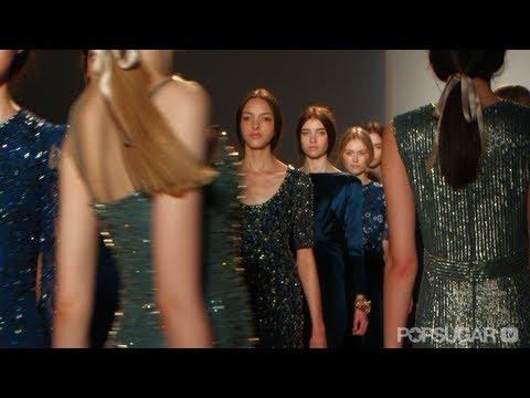 Jenny Packham Shows Parisian Romance For Fall 2013 | New York Fashion Week