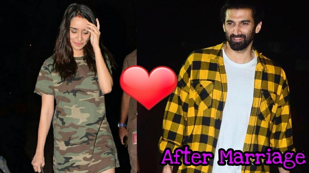 Married Shraddha Kapoor And Aditya Roy Come Out To Celebrate S Birthday Both Shy