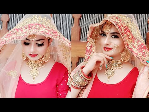 Indian Bridal Makeup Transformation in Just Rs.150 - Challenge thumbnail