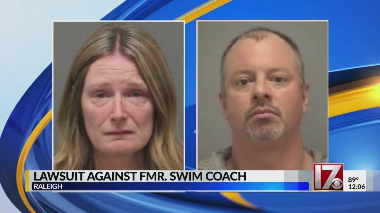 Civil suit filed against white swim coach accused of sex offenses