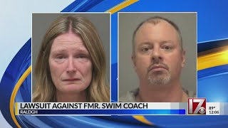 Civil suit filed against former Raleigh swim coach accused of sex offenses