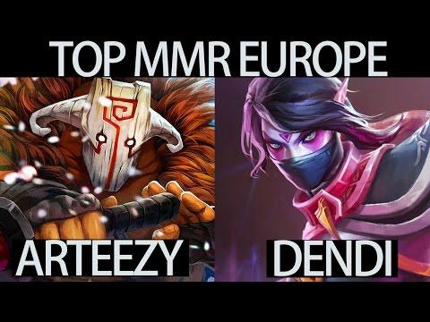 Pro Juggernaut Arteezy vs Dendi Templar Top MMR EU 7.05 Meta Dota 2