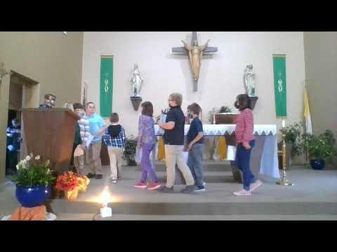 All saints Day celebration Thorp Catholic School