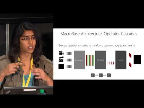 Macrobase: A Search Engine for Fast Data Streams | DataEngConf NYC '17