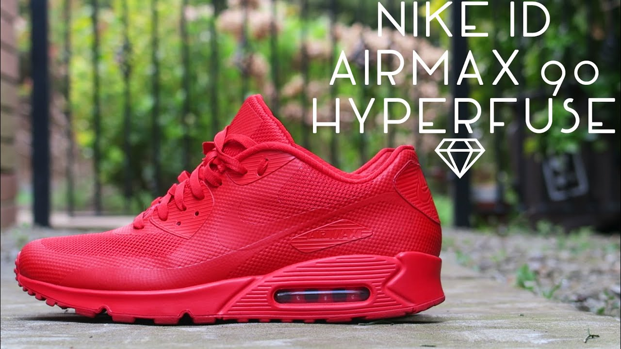 NIKE ID AIRMAX 90 HYP | CLOSE LOOK | ON FEET | INDEPENDENCE DAY PACK  INSPIRED