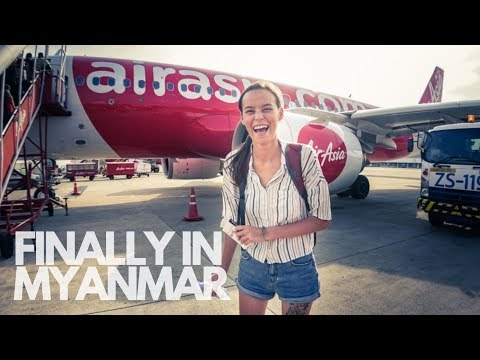 THAILAND TO MYANMAR BY AIR ASIA I THEY KEPT OUR DRONE!