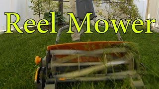 Fiskars StaySharp Max Reel Mower Review