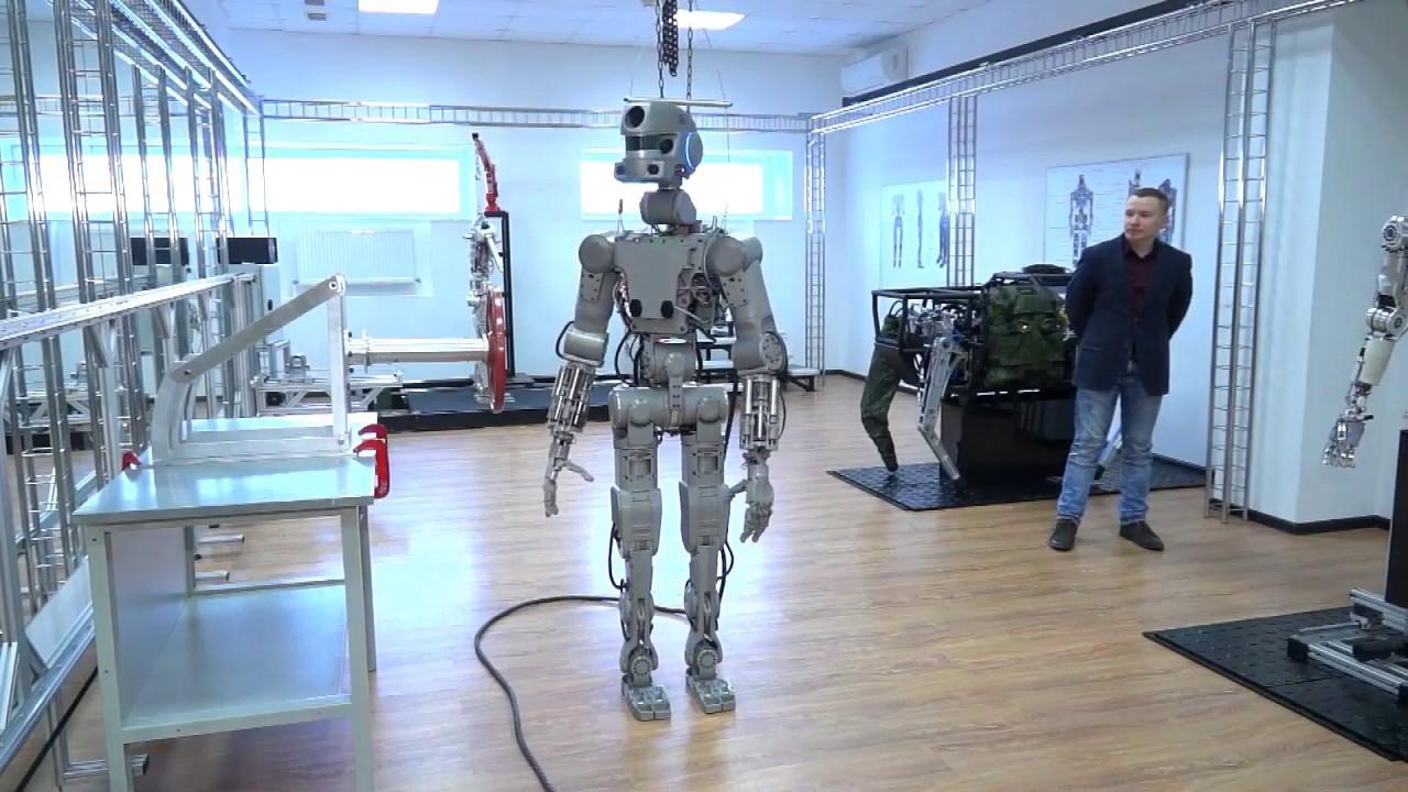 Российский робот Фёдор может полететь в космос в 2021 году