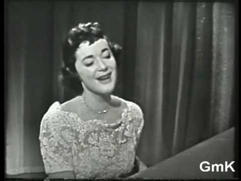 GISELE MacKENZIE, piano & vocal: