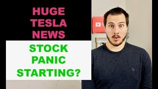 TESLA BUYING GM PLANT? STOCK MARKET PANIC STARTING?