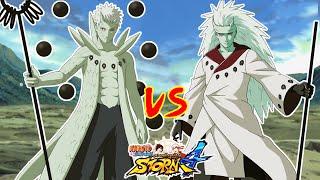 Naruto Shippuden Ultimate Ninja Storm 4 : OBITO JINCHURIKI VS MADARA 6 SENDAS - ULTRA UCHIHA