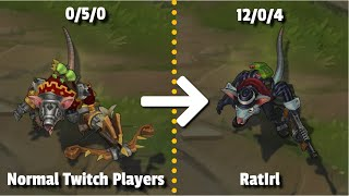 How To Play Twitch Like A Pro (Ratirl) [Pro Analysis]
