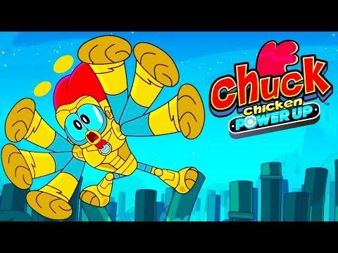 Chuck Chicken Power Up Special Edition - Best cartoons - Superhero cartoons