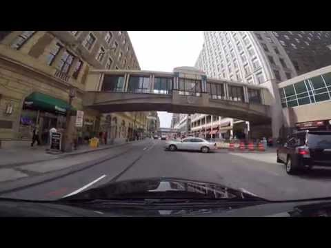 Video tour of downtown Minneapolis, MN (GoPro 1080p)
