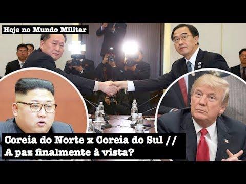 Coreia do Norte x Coreia do Sul, a paz finalmente à vista?