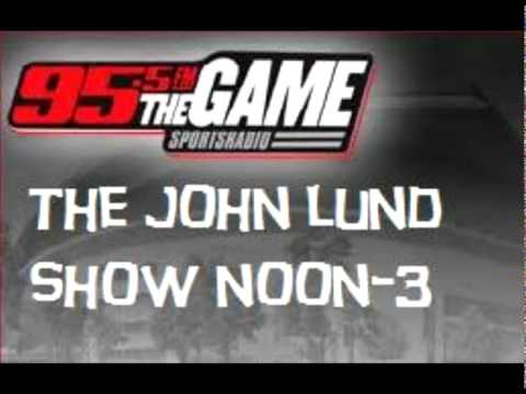 JOHN LUND SHOW TEASER PROMOS: SPORTS RADIO 95.5 FM THE GAME
