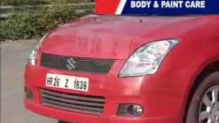Maruti Car Body and Paint Care Tips