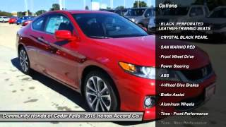 2015 Honda Accord Coupe Cedar Falls IA H8827