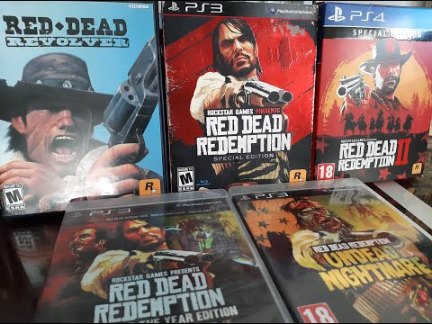 COMPLETE Red Dead Redemption Collection - Special Edition (Rockstar Games) Playstation |