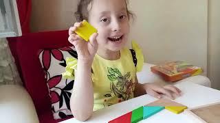 Tangramla oynuyoruz...Eğlenceli Çocuk Videosu