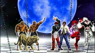 [KOF DL]:- Sha-Tai-Zou Vs Orochi Iori XIII WF Team