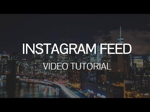 Mobirise Web Page Builder v4.4.1 - Instagram Feed Extension!