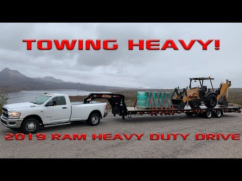 HDRams: 2019 Ram HD Overview and Max Towing