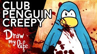 Una PESADILLA en CLUB PENGUIN - Draw My Life